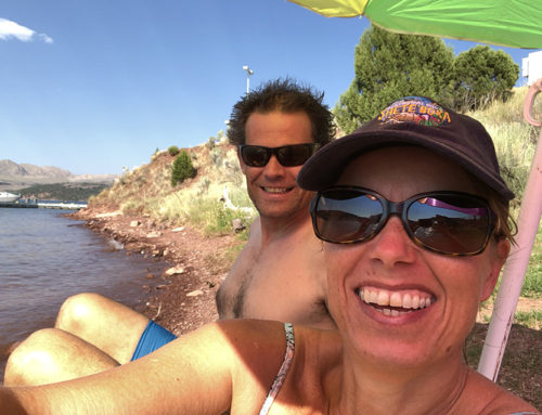 10 augustus: Flaming Gorge Utah