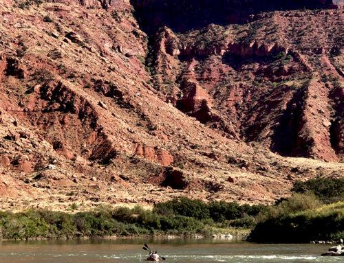 7 en 8 oktober: Kajakken, Moab en nieuwe Camping