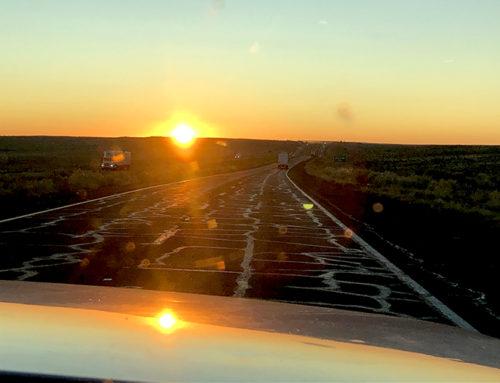 2 november: Onderweg naar Holbrook AZ